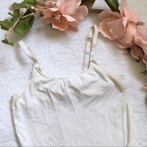 Nursing camisole tank top